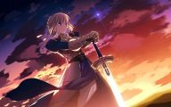 Fate/stay Saber 9 Free Wallpaper
