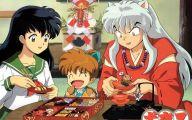 Inuyasha Album 18 Background Wallpaper