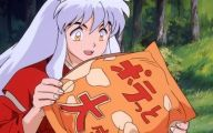 Inuyasha Mall Display  21 Background Wallpaper