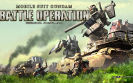 Mobile Suit Gundam Video Game 41 Desktop Wallpaper