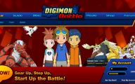 Online Digimon 4 Wide Wallpaper