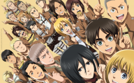 Shingeki No Kyojin Attack On Titan 28 High Resolution Wallpaper
