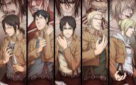 Shingeki No Kyojin Cartoons 5 Background Wallpaper