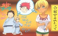 Shokugeki No Soma	Food Wars 14 Hd Wallpaper