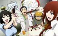 Steins: Gate Anime 4 Background Wallpaper