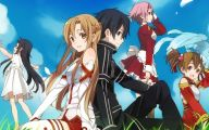 Sword Art Online Cartoon Character 15 High Resolution Wallpaper