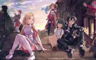 Sword Art Online Cartoon Character 2 Anime Wallpaper