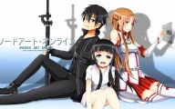 Sword Art Online Cartoon Character 28 Wide Wallpaper