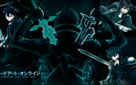 Sword Art Online Cartoon Character 37 Desktop Background