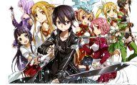 Sword Art Online Series 21 Desktop Background