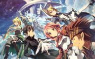 Sword Art Online Series Online 23 Anime Background
