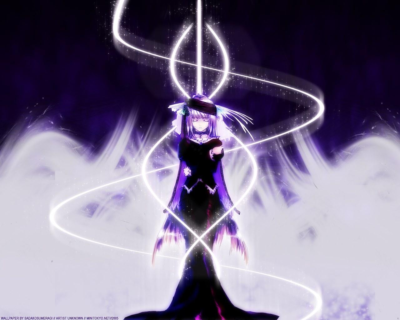 Anime Dark Angel Girl 15 Desktop Wallpaper