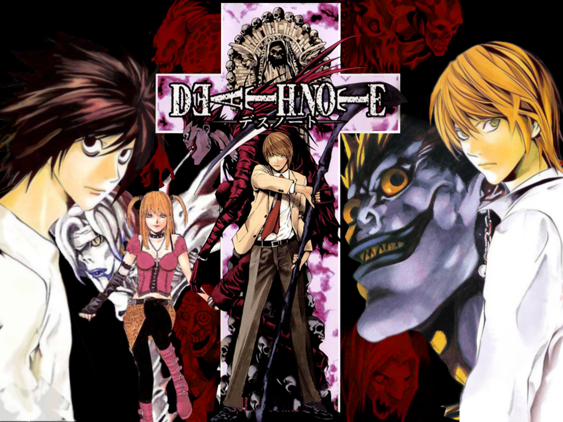 Death Note Season 2 26 Desktop Wallpaper