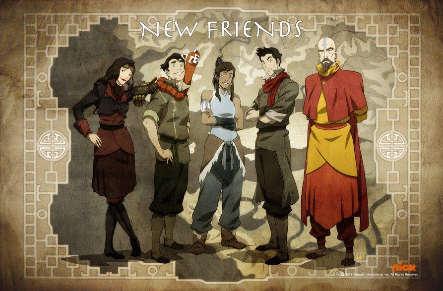 Legend Of Korra 7 Anime Background