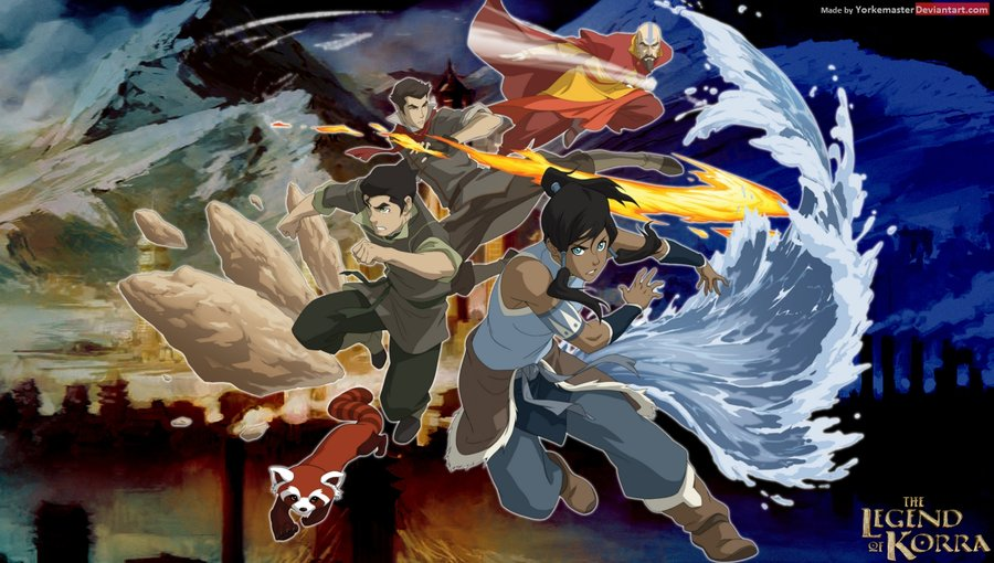 Legend Of Korra	 8 Widescreen Wallpaper