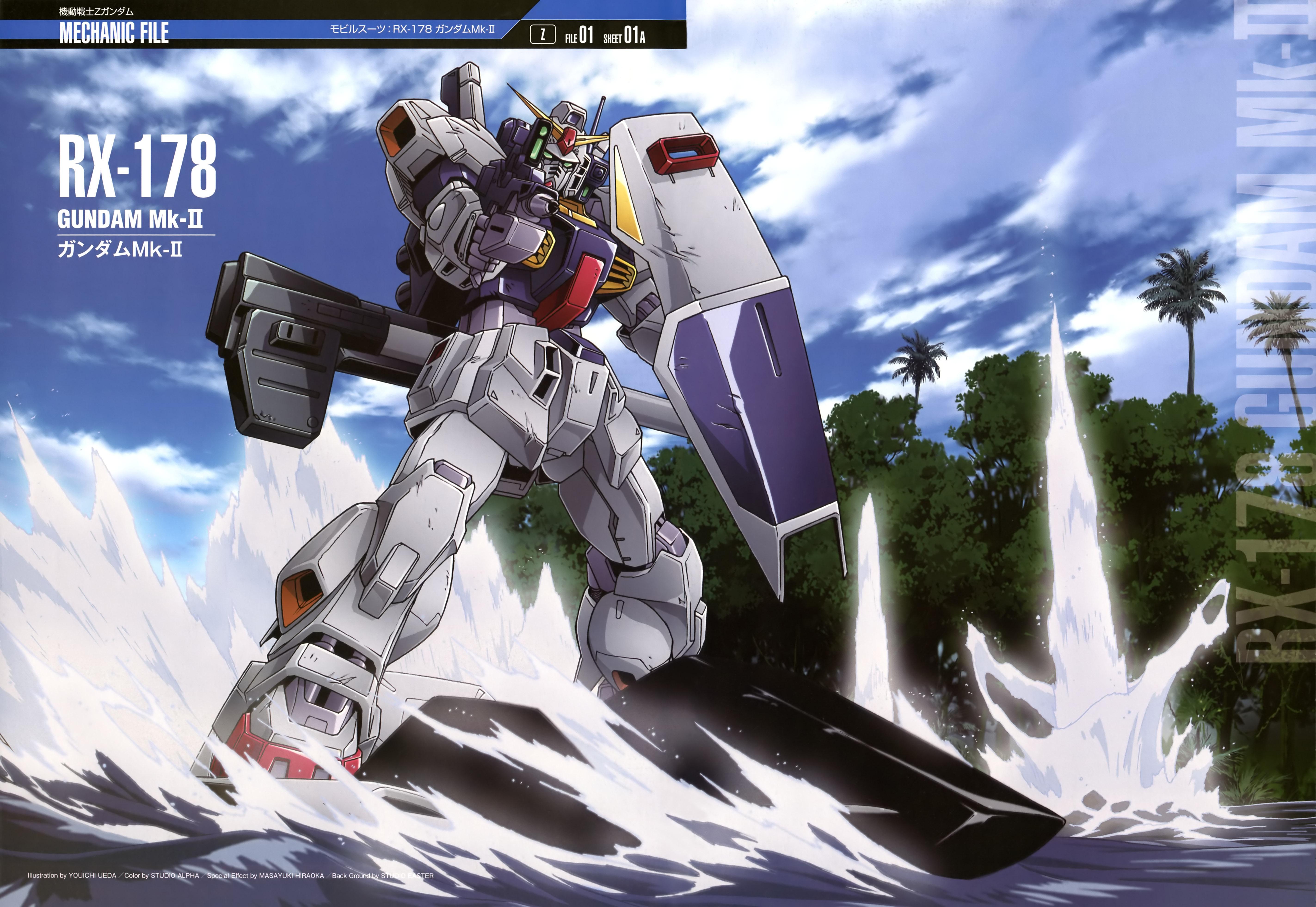 Mobile Suit Gundam Series 4 Hd Wallpaper - Animewp.com