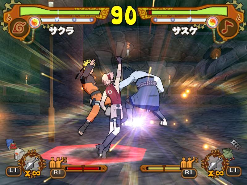Naruto Games 5 Background Wallpaper