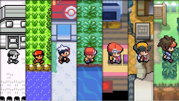 Pokemon Games 20 High Resolution Wallpaper