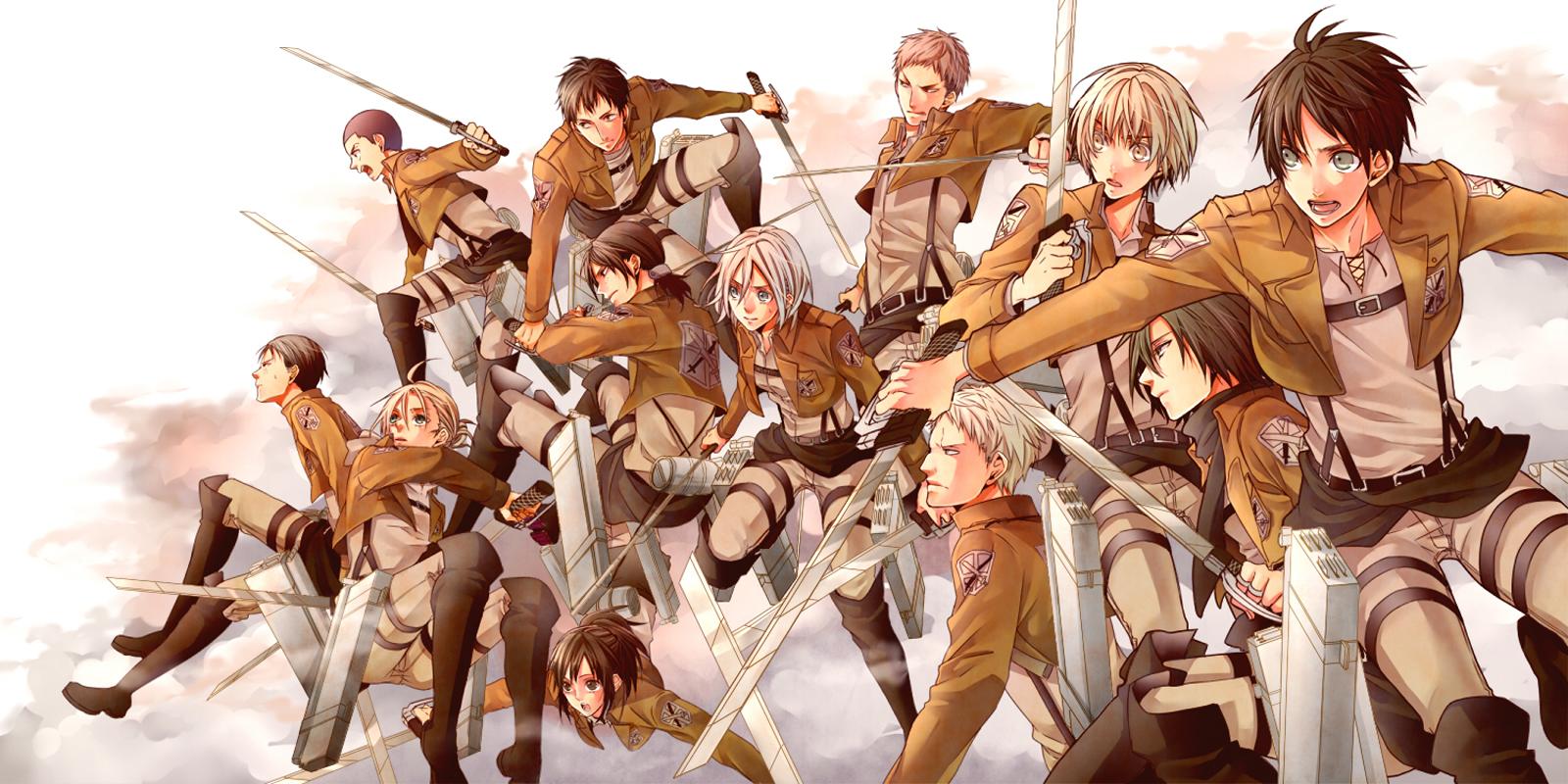 Shingeki No Kyojin Season 2 22 Desktop Background