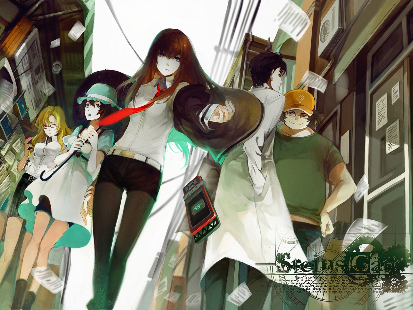 Steins Gate Anime 7 Desktop Wallpaper