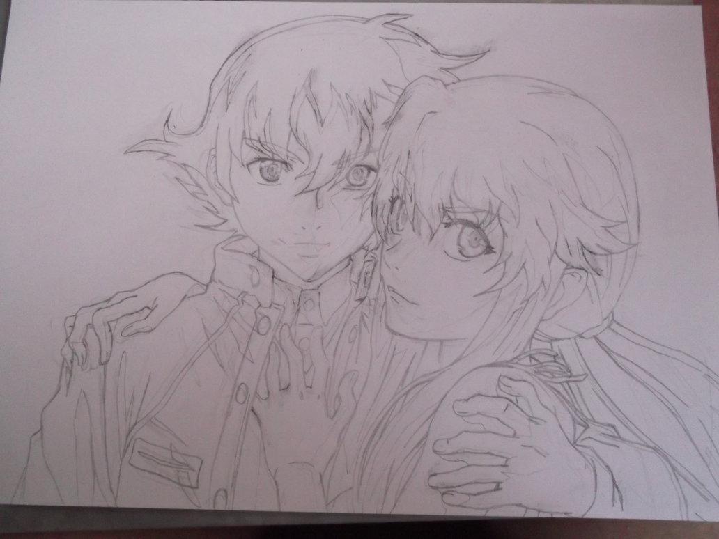 Amano Yukiteru 42 Anime Wallpaper
