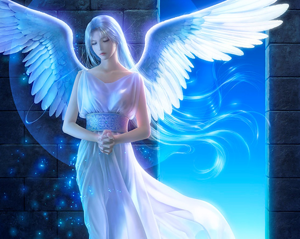 Anime girl angel 19 cool hd wallpaper - Angel girl wallpaper ...