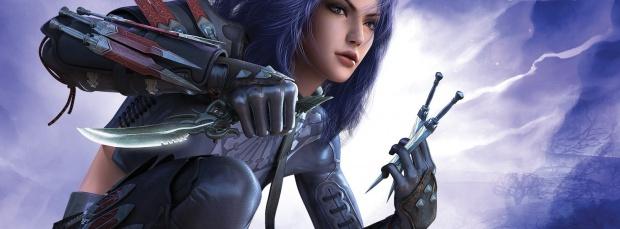 Anime Girl Assassin 34 Background Wallpaper