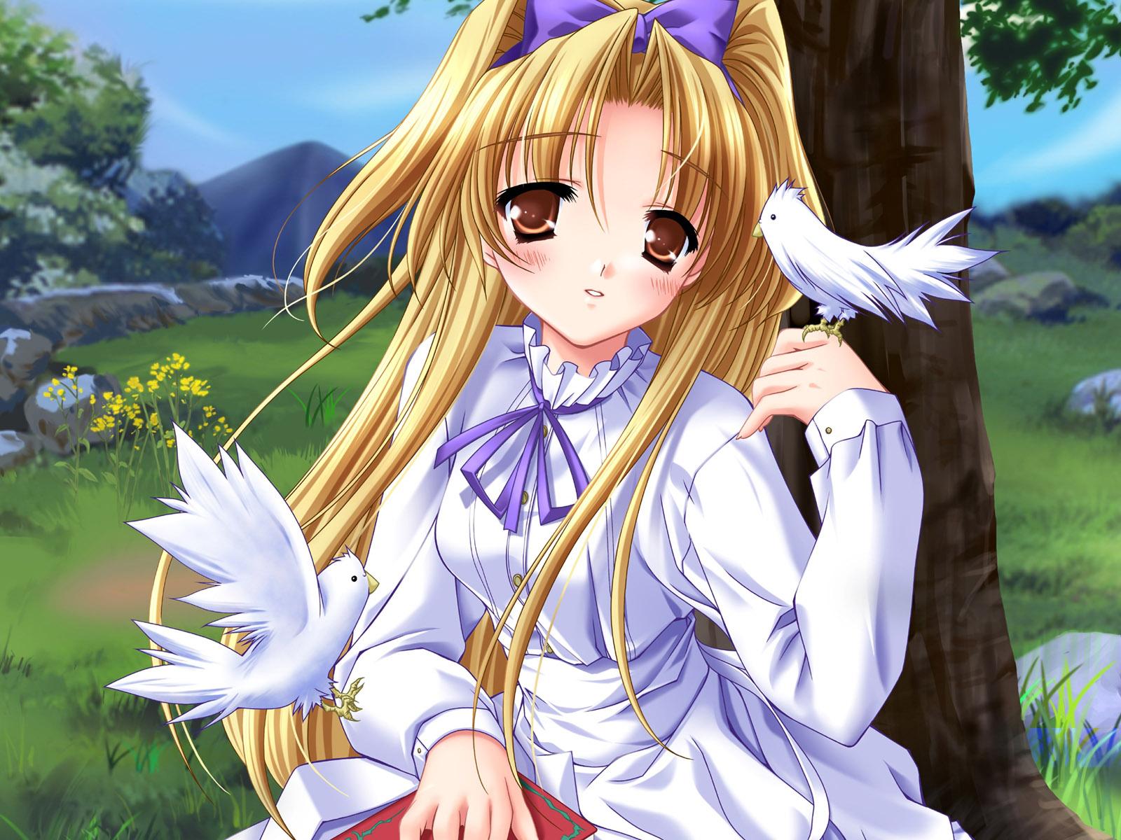 Anime Girls 17 Desktop Wallpaper