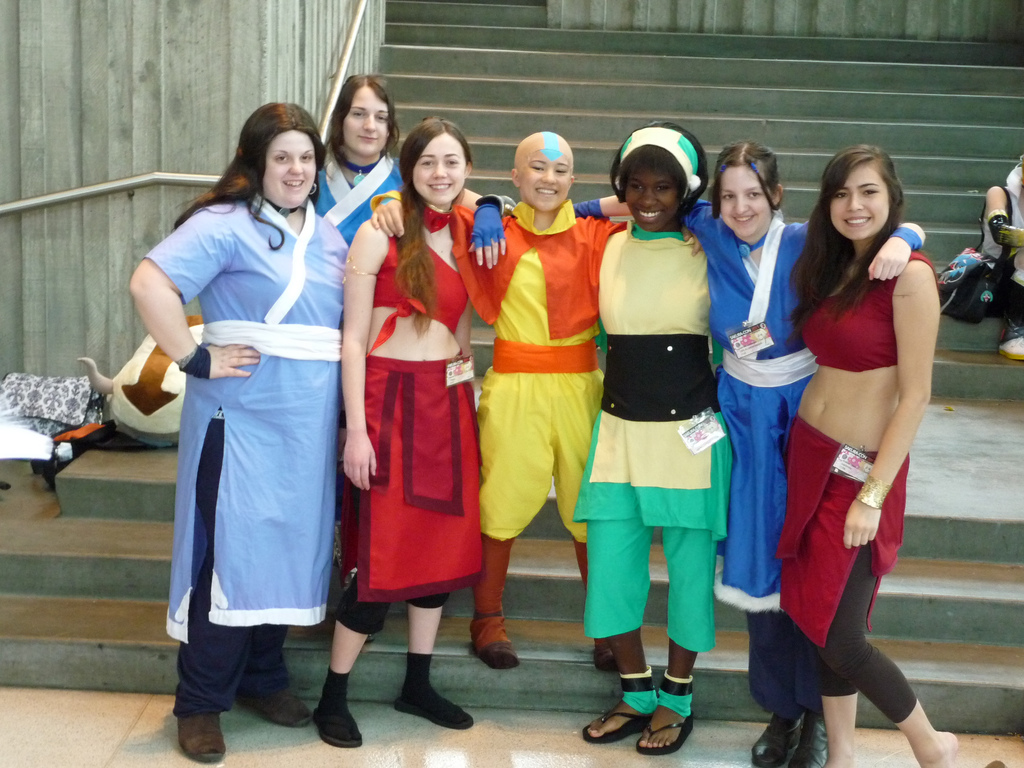 Avatar The Last Airbender Characters 9 Widescreen Wallpaper