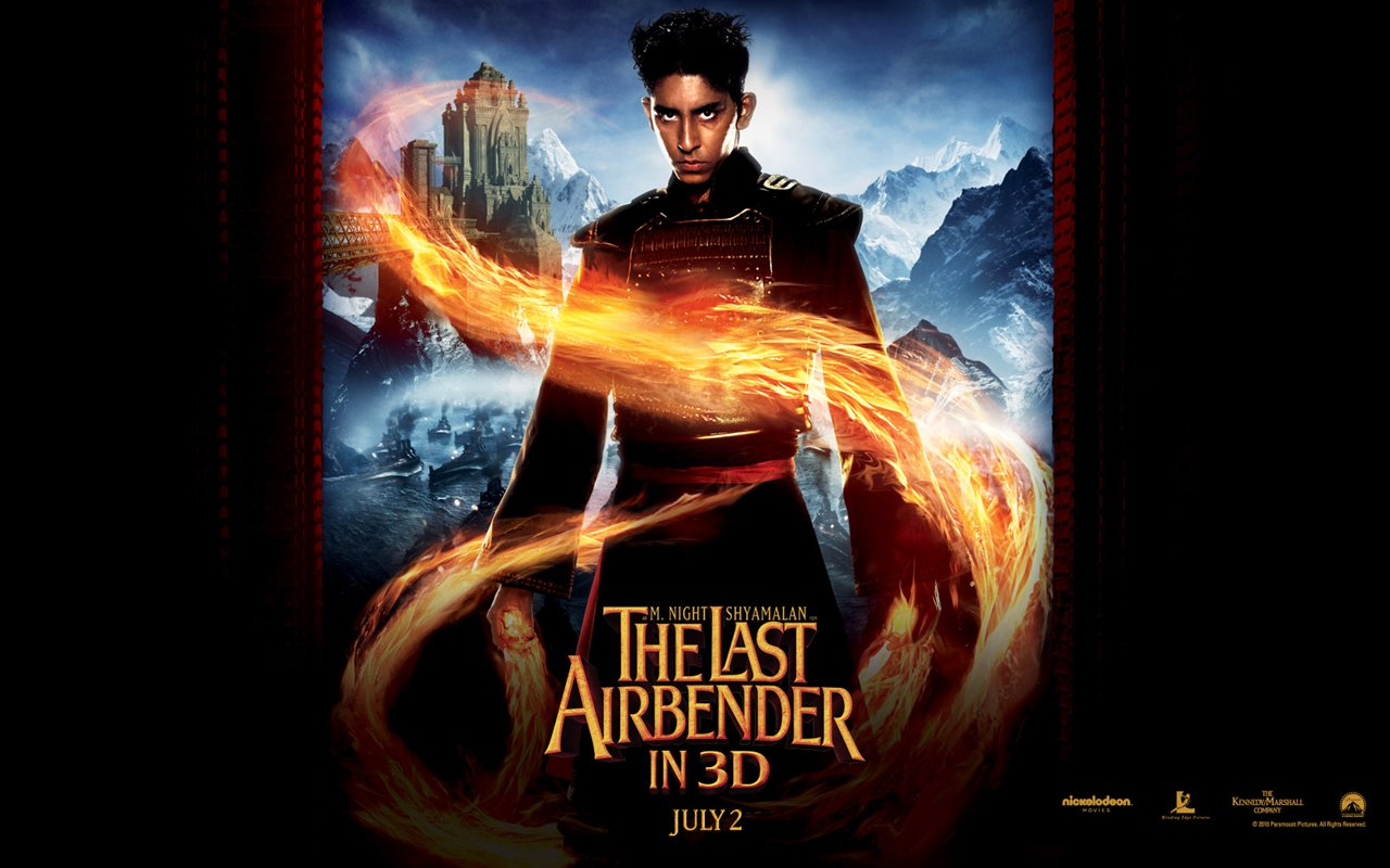 Avatar The Last Airbender Movie 2 26 Wide Wallpaper