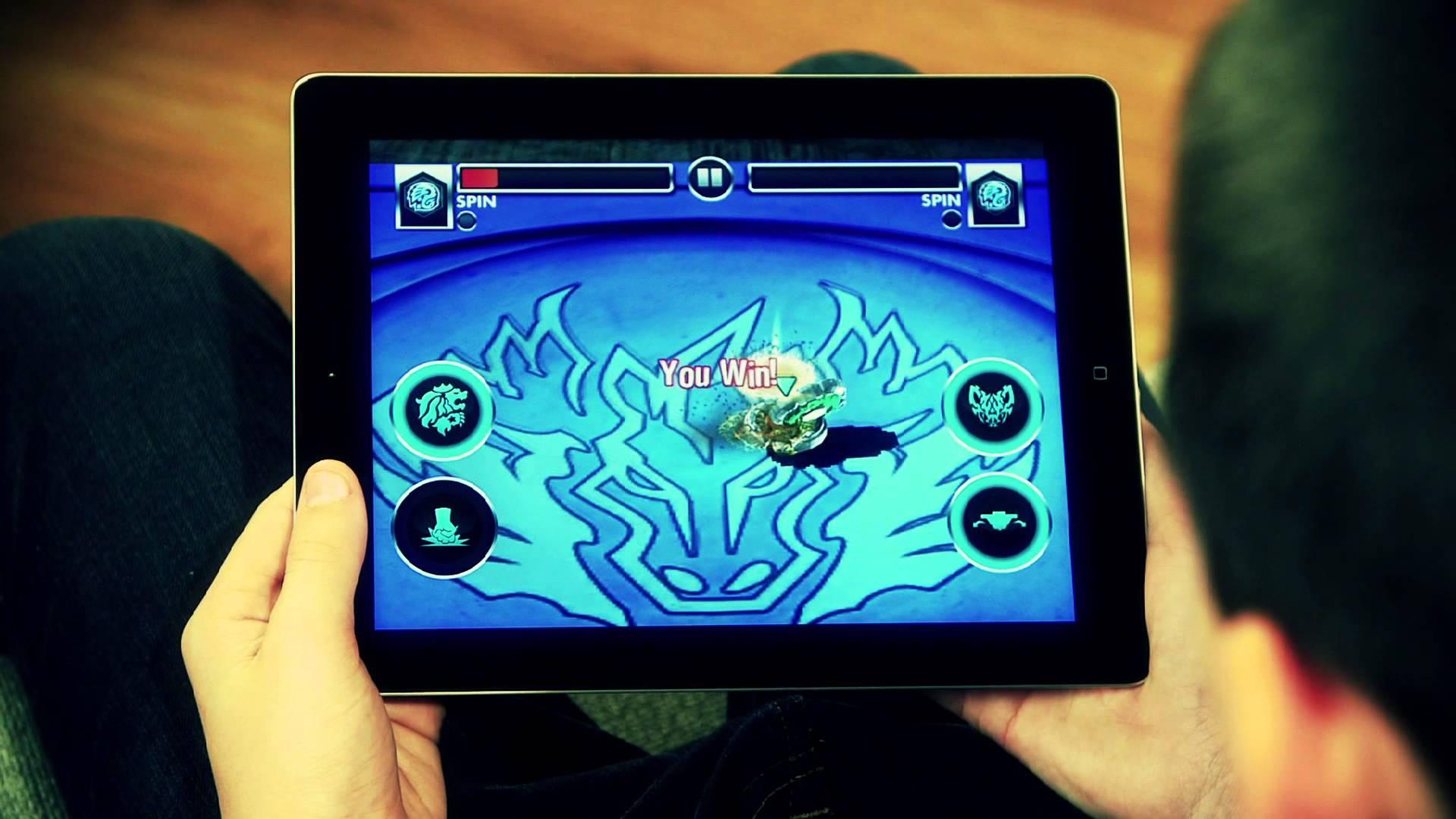 Beyblade Battles Games 2 High Resolution Wallpaper