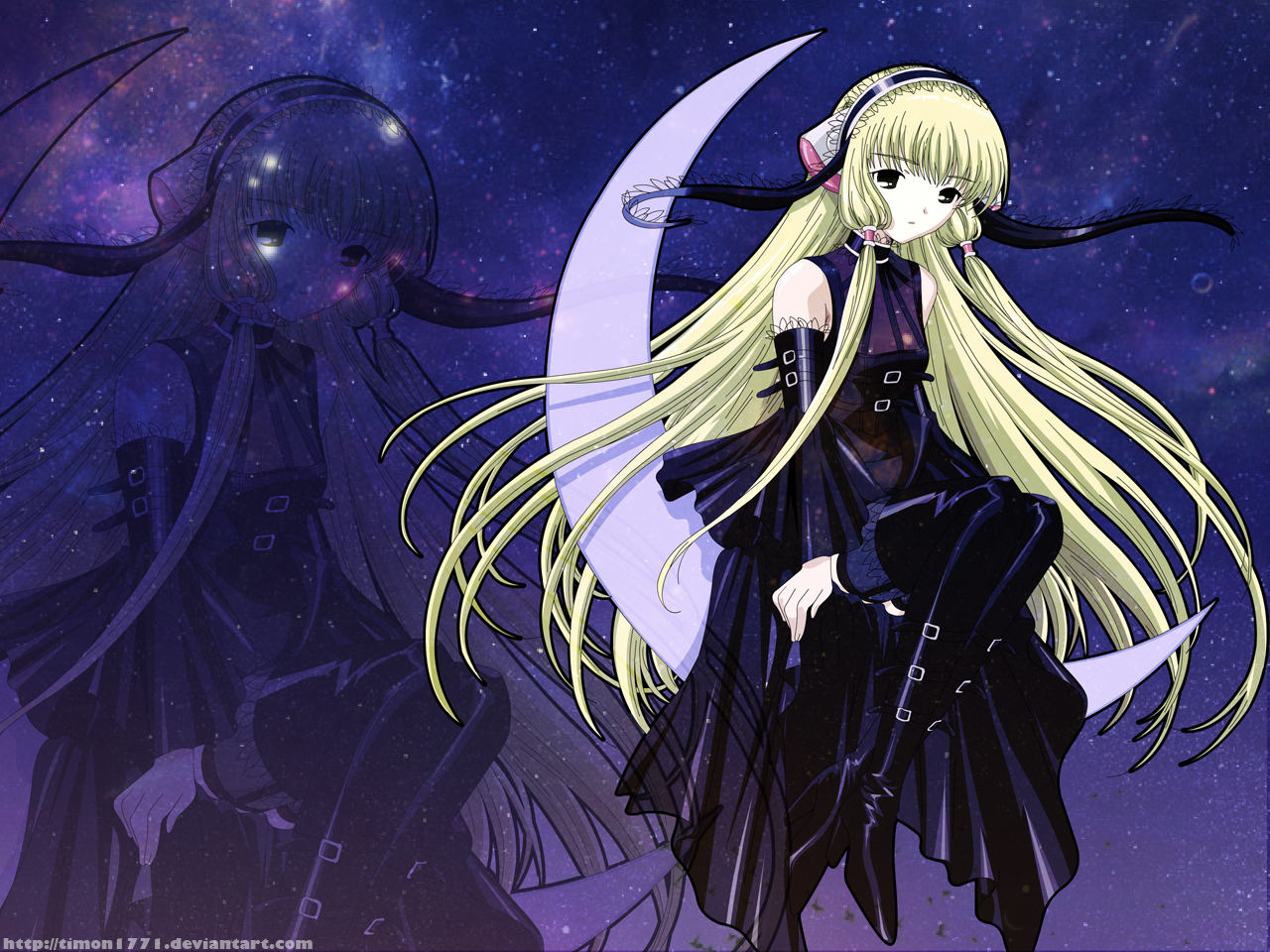 Chobits Chii And Freya 11 Free Hd Wallpaper