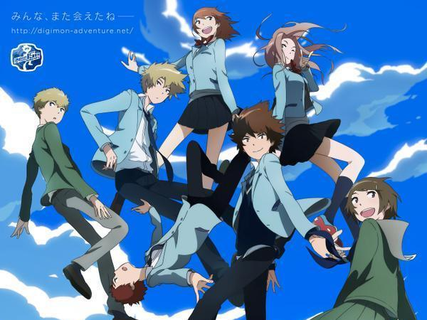 Digimon Adventure Tri 16 Anime Background