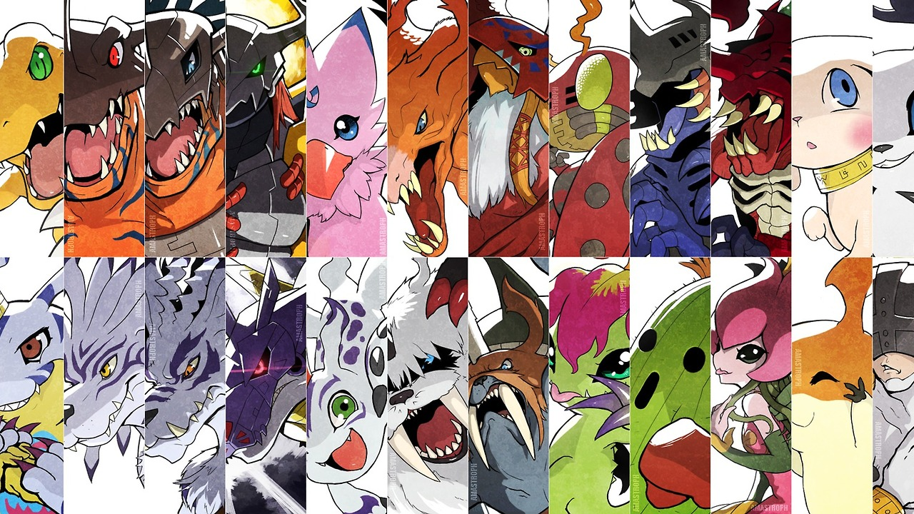 how to watch digimon series