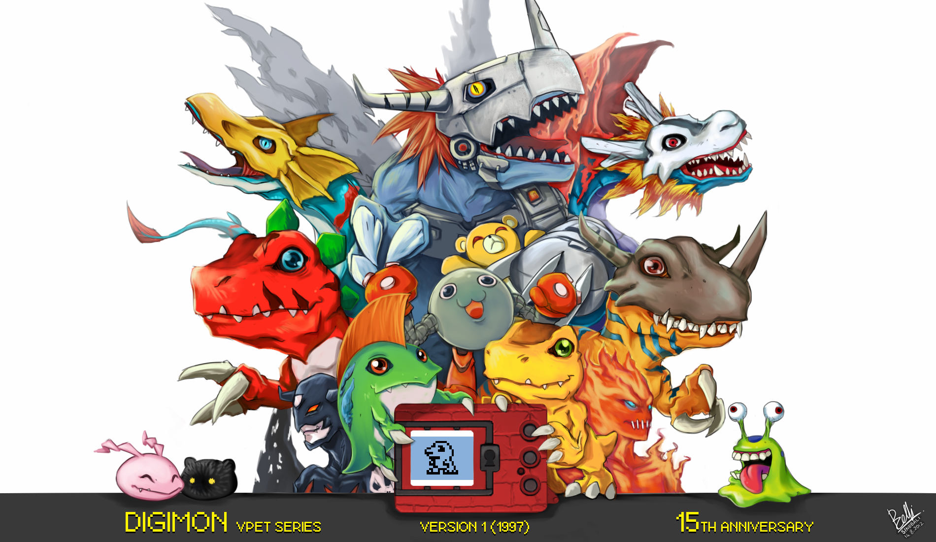 Digimon Online 21 Anime Background