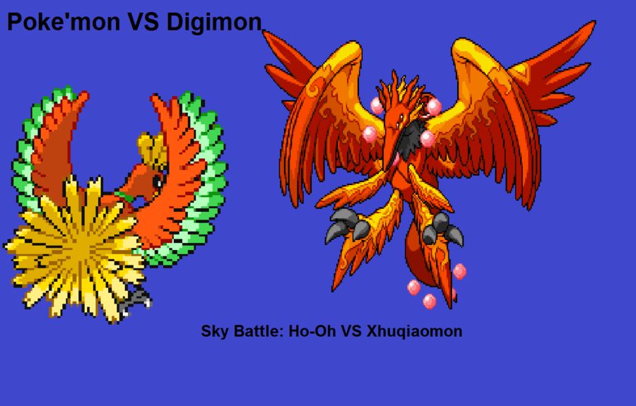 Digimon Vs Pokemon 37 Desktop Wallpaper