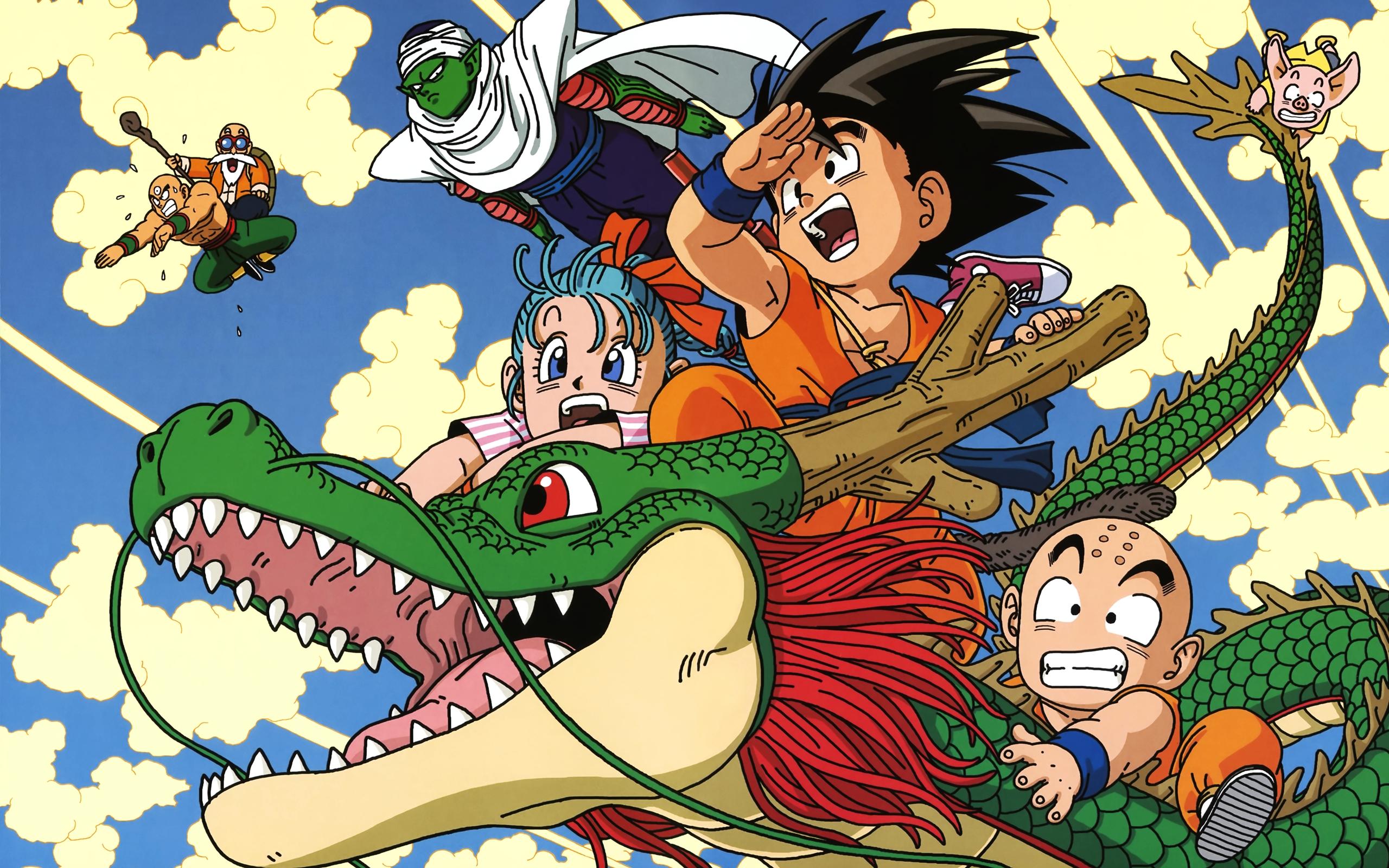 Dragon Ball Z Dragon 6 Desktop Wallpaper