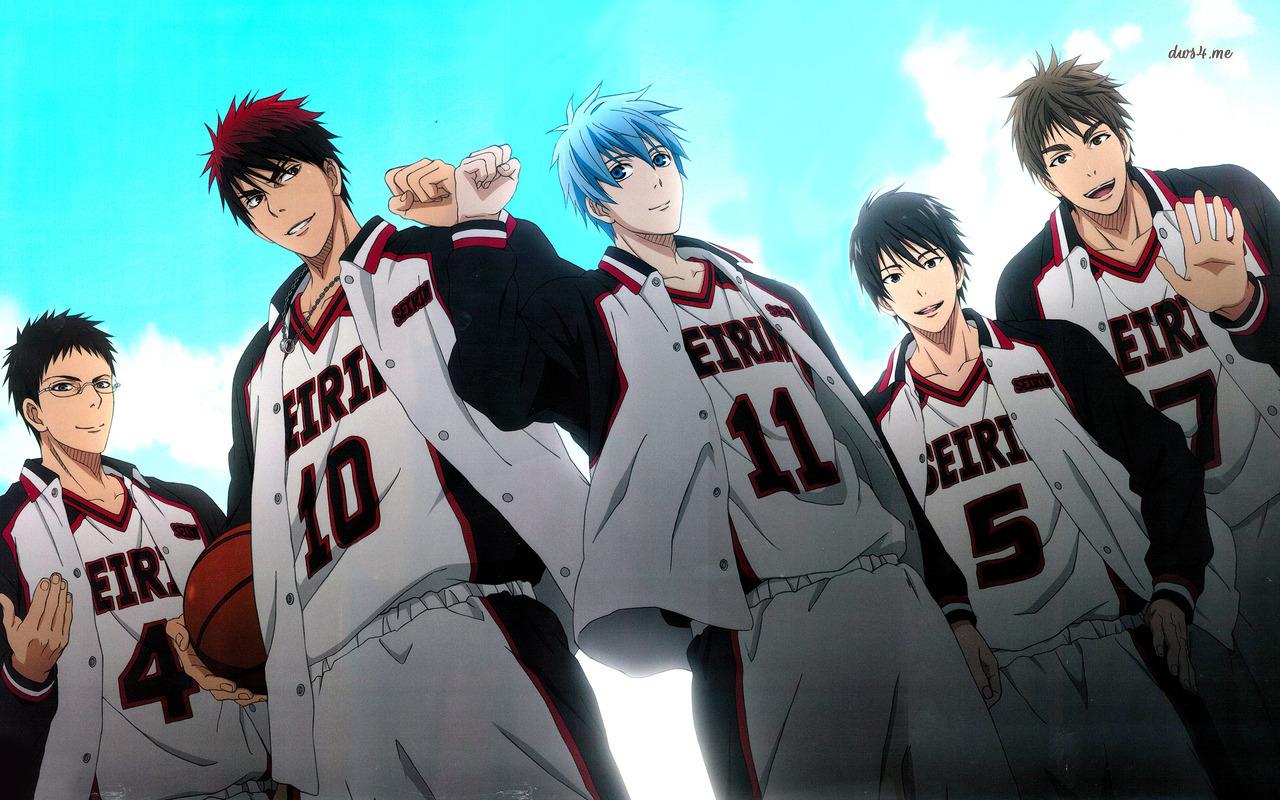 Kuroko's Basketball Characters 32 Anime Wallpaper