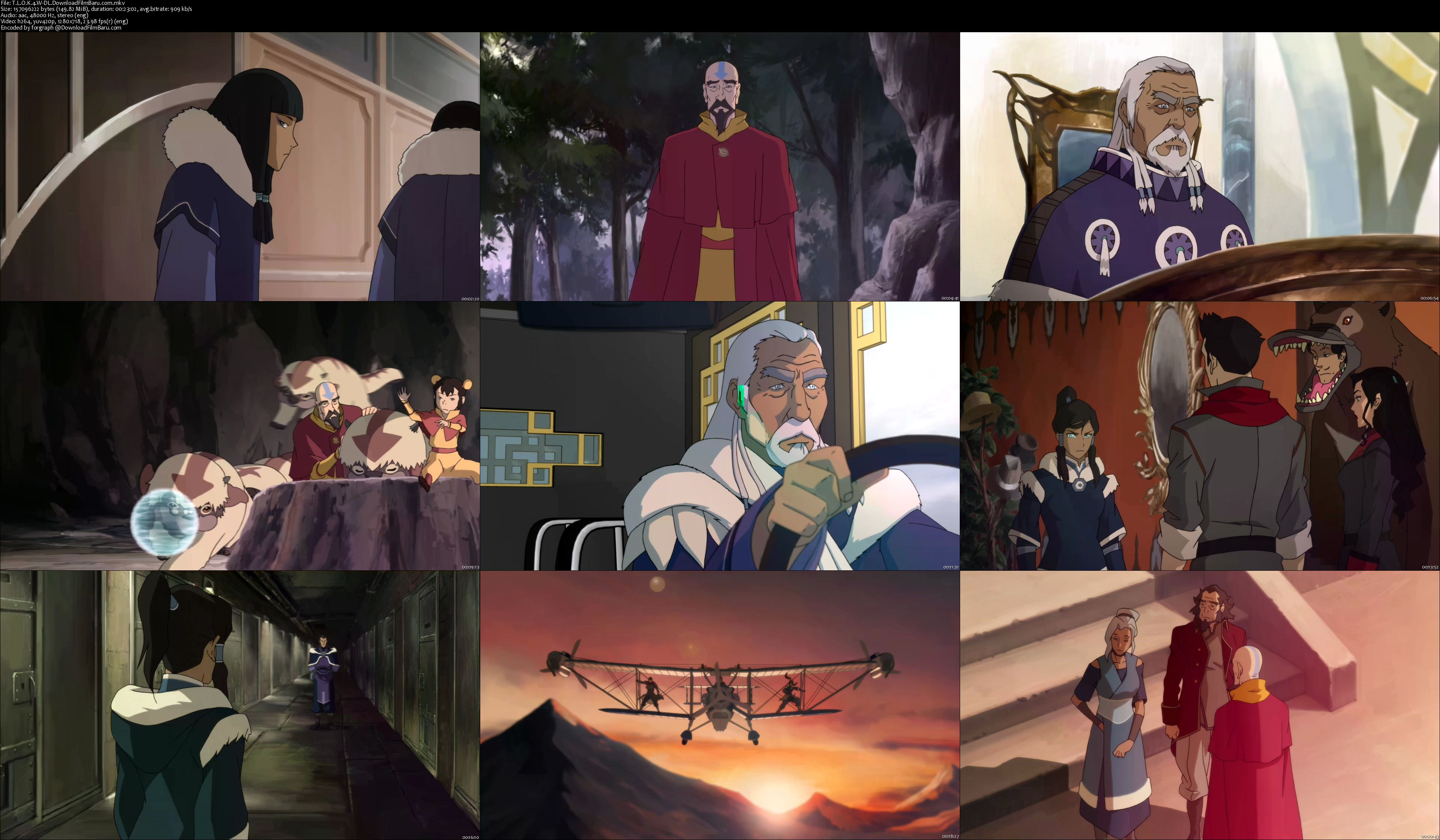download avatar the legend of korra book 4 sub indo 720p