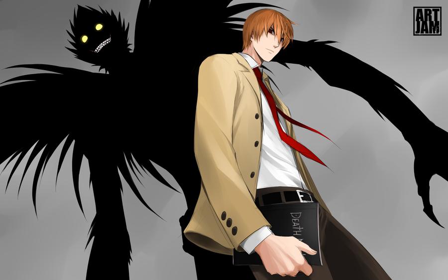 Light Yagami 14 Background Wallpaper
