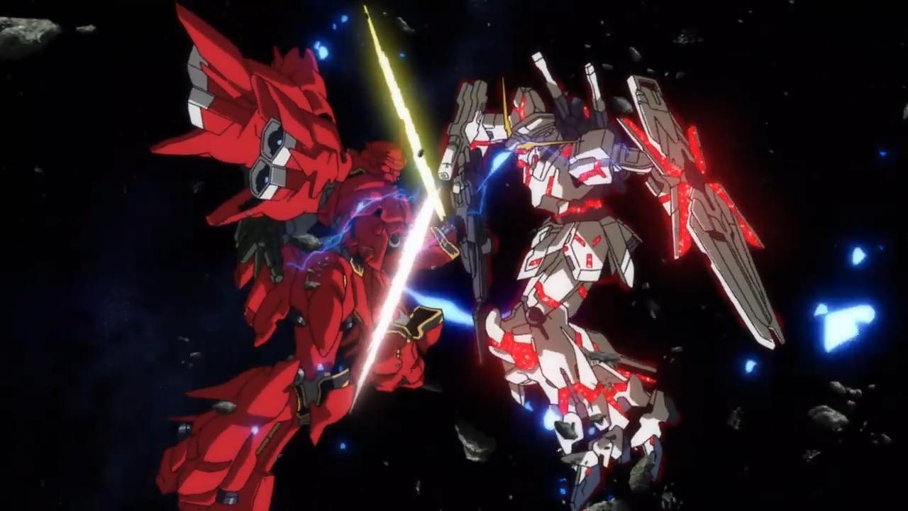 Mobile Suit Gundam Unicorn 34 Anime Background