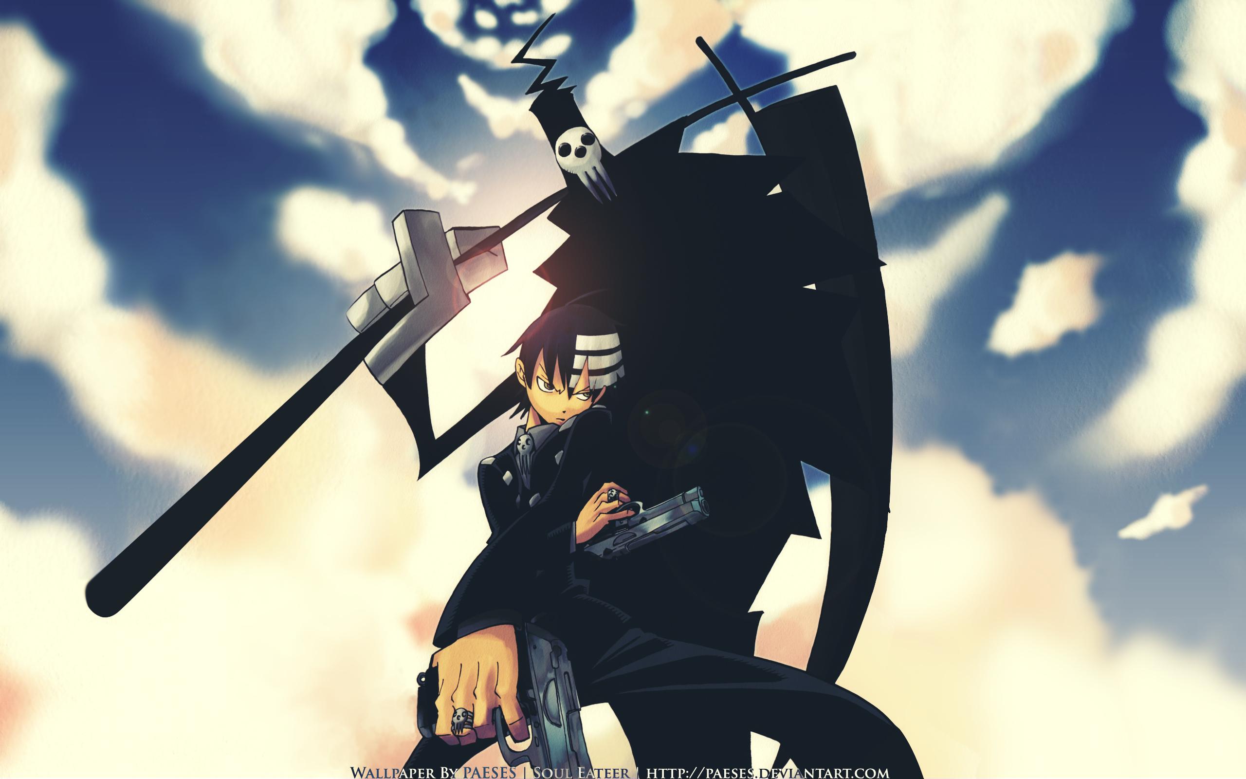 Soul Eater Death The Kid 34 Widescreen Wallpaper