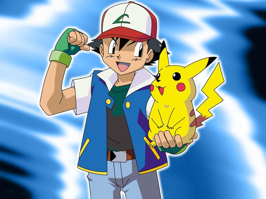 Ash Ketchum 19 Anime Background
