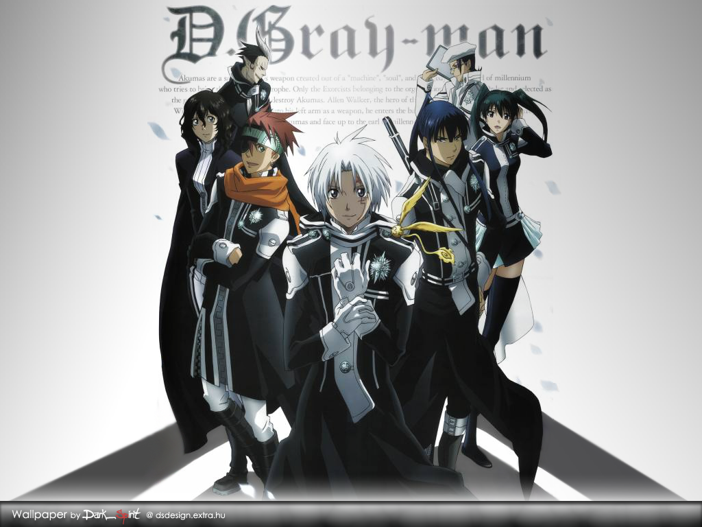 D Gray Man Wallpaper 2 High Resolution Wallpaper