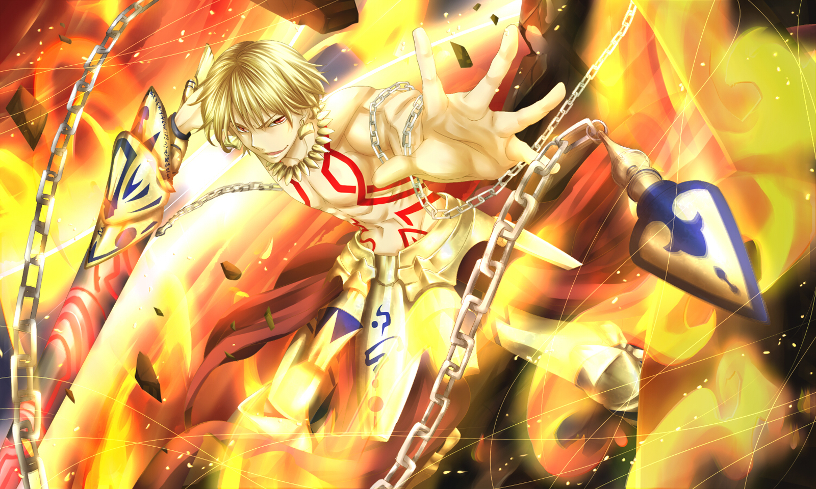 fate stay night gilgamesh wallpaper 32 background