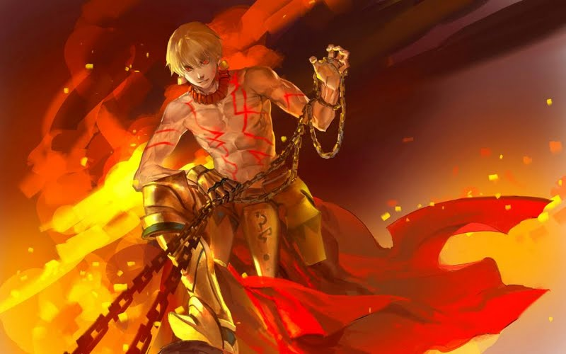 fate stay night gilgamesh wallpaper 5 hd wallpaper