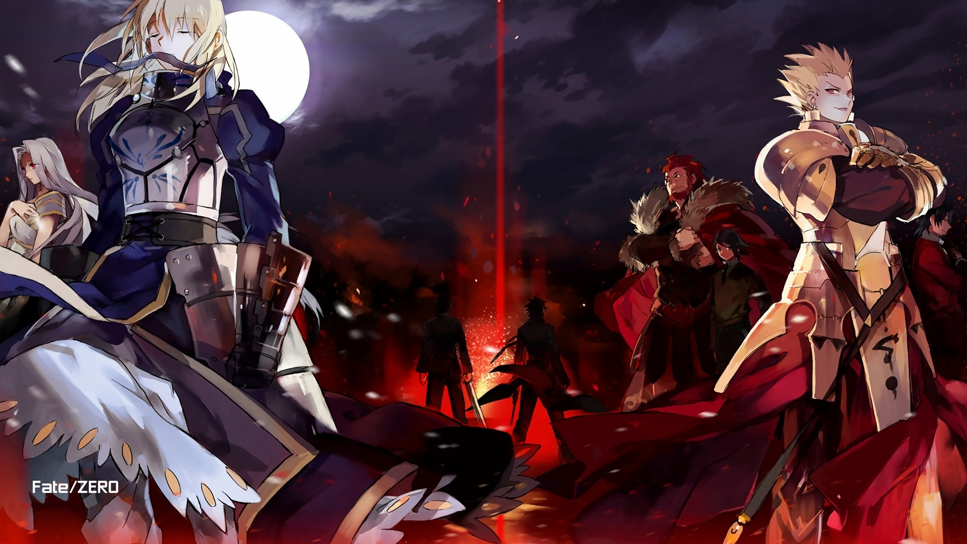 Fate Stay Night Lancer Wallpaper 1 Widescreen Wallpaper