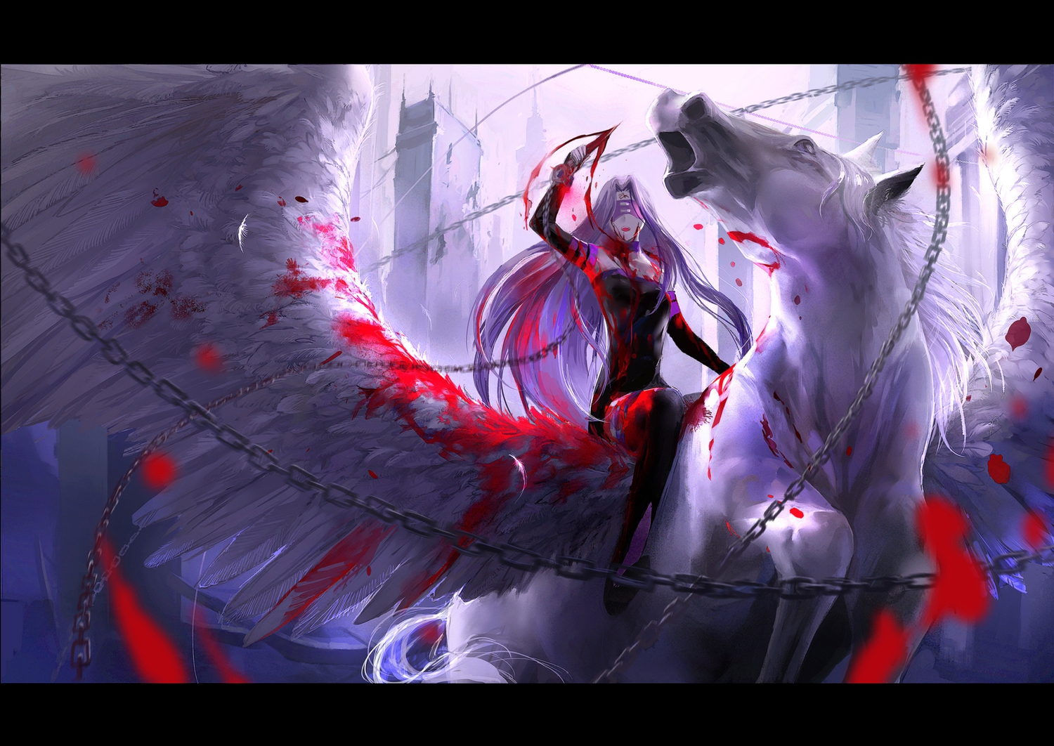 Fate stay night rider wallpaper 13 widescreen wallpaper - Fate stay night wallpaper ...