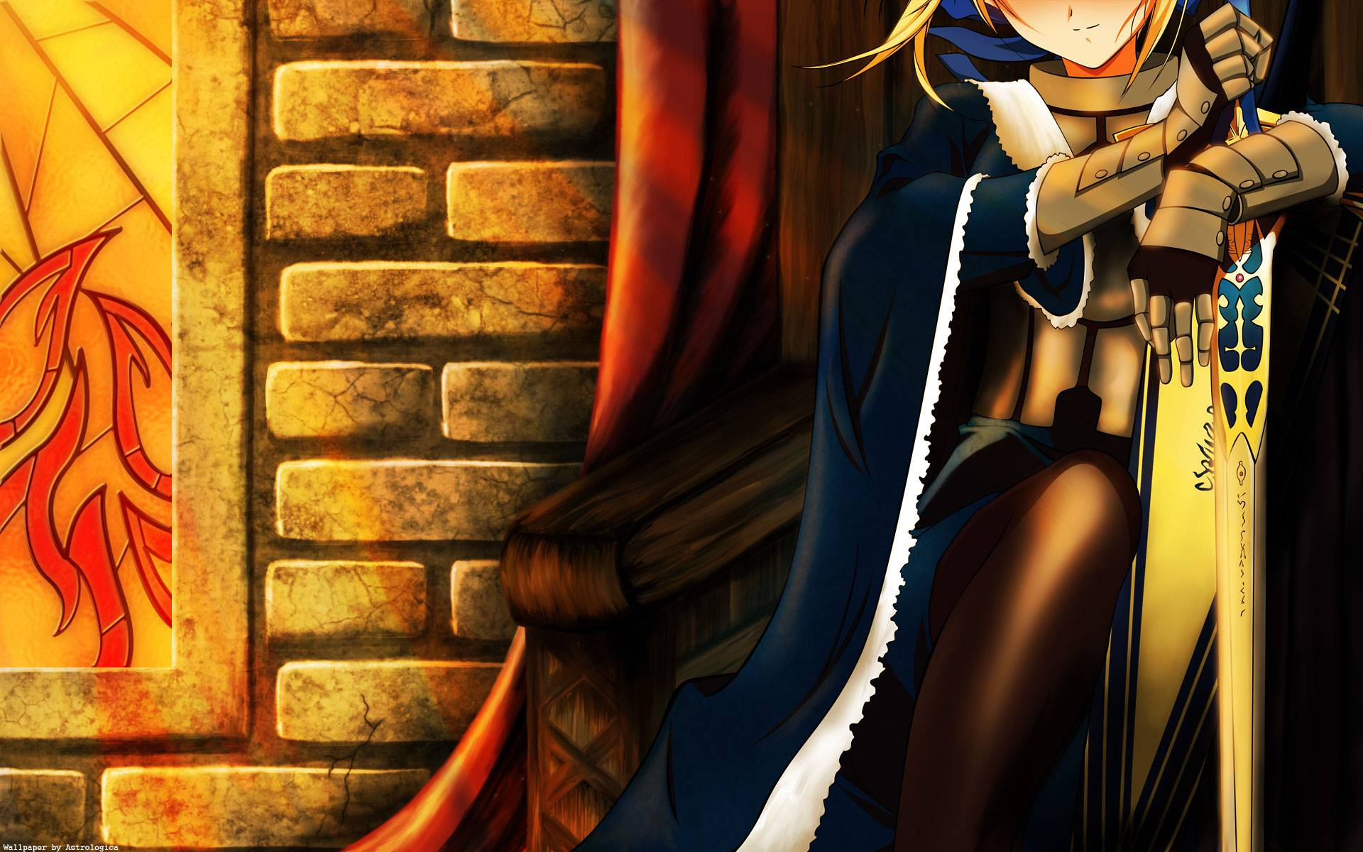 Fate Stay Night Wallpaper Saber 8 Desktop Wallpaper