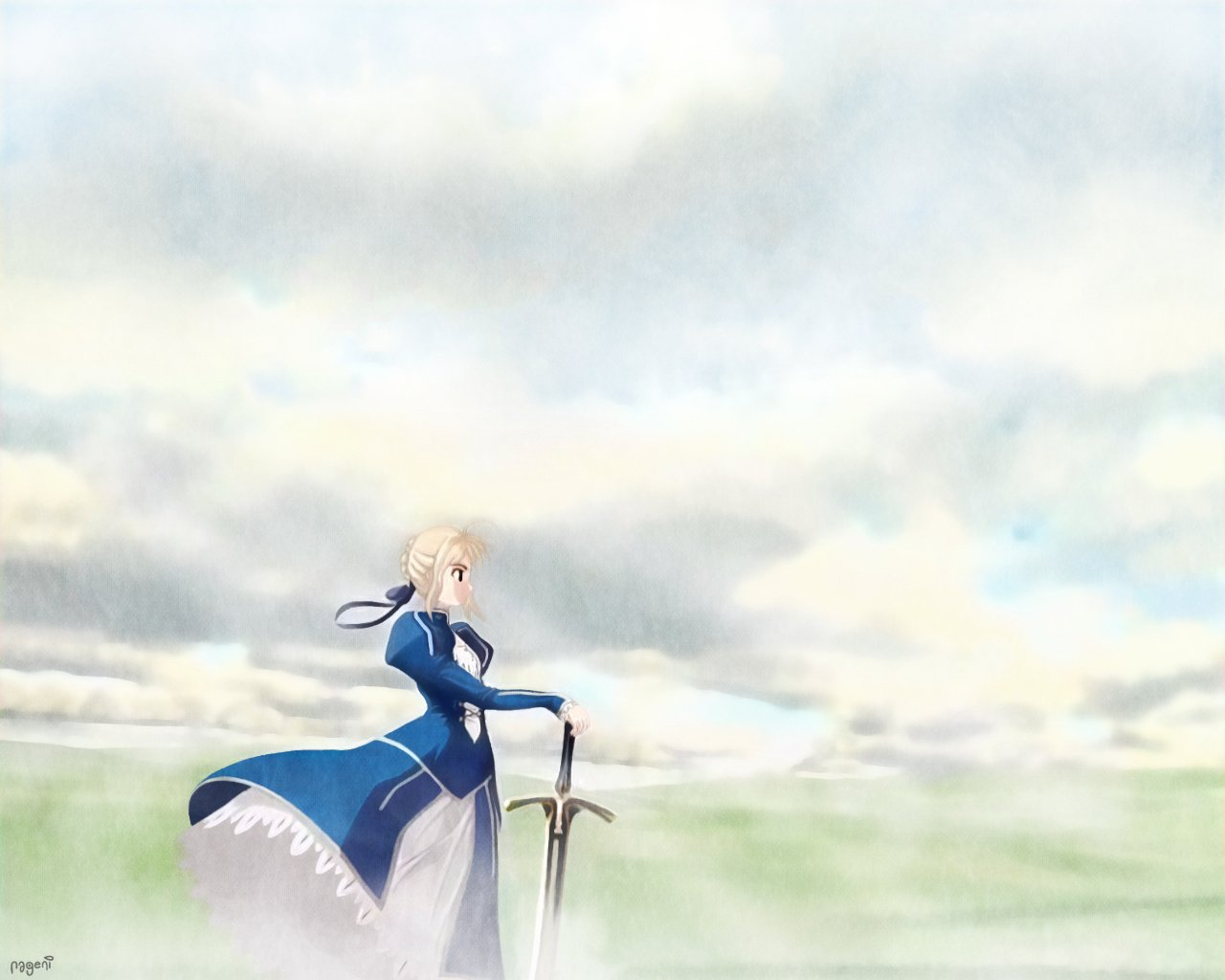 Fate Stay Night Wallpaper Saber 30 Background Wallpaper ...